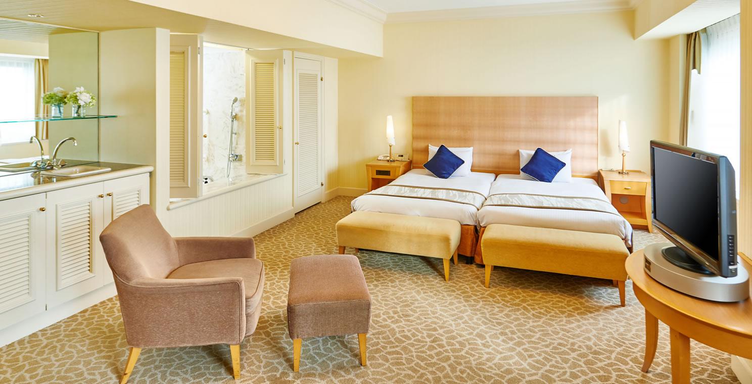 ジュニアスイートルーム(5階)|客室紹介|舞浜|ホテルオークラ東京